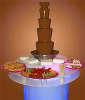 Chocolate Fountain from Crown Celebrations, Whitehaven, Cumbria
