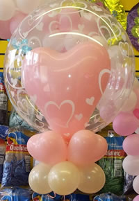 Plastic Printed Balloon inserted with a printed balloon of your choice to suit your occasion, Birthdays, Christenings, Weddings, Anniversaries