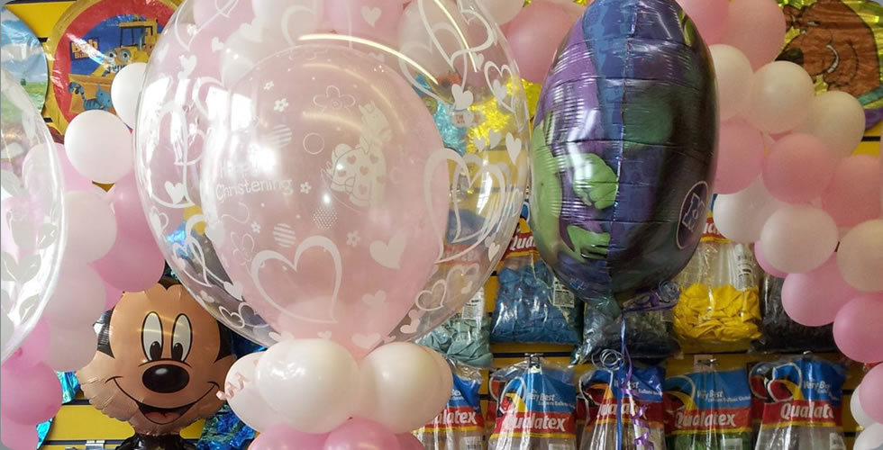 Crown Celebrations of Whitehaven & Workington - Balloon & Party Specialists in Cumbria